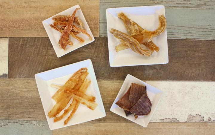 たんぱく質も多い肉類を素材とした犬用おやつ